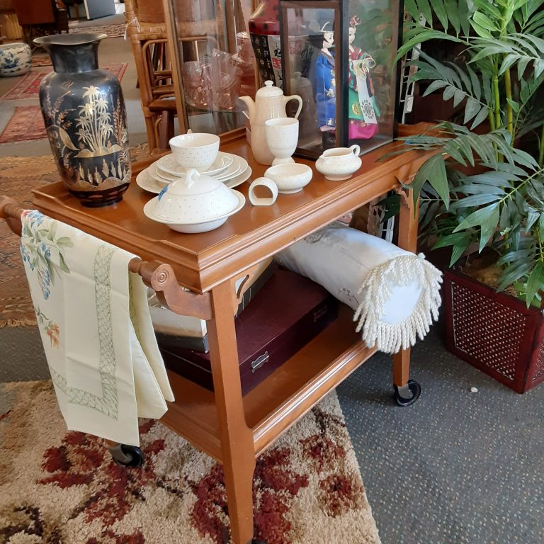 Fabulous Finds Tea Cart